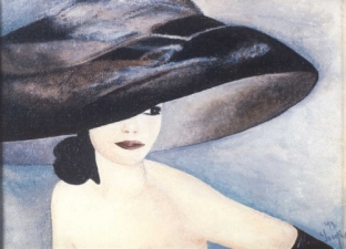 Detail: Lady in the hat I.